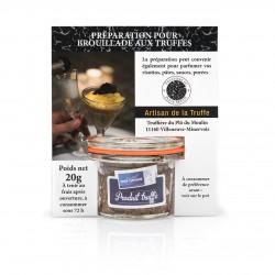 Préparation pour brouillade aux truffes