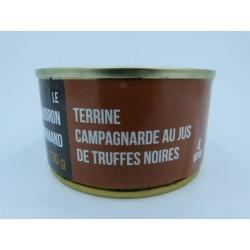 Terrine Campagnarde au jus de truffes noires