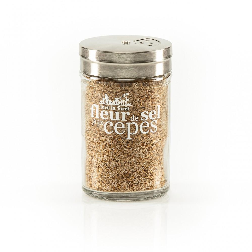 Fleur de sel aux cèpes, 60g