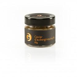Caviar d'aubergines truffé