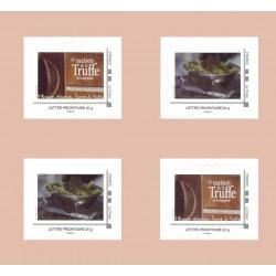 Carnet de quatre timbres