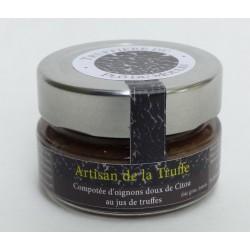 Compotée d'oignons doux de Citou au jus de truffes