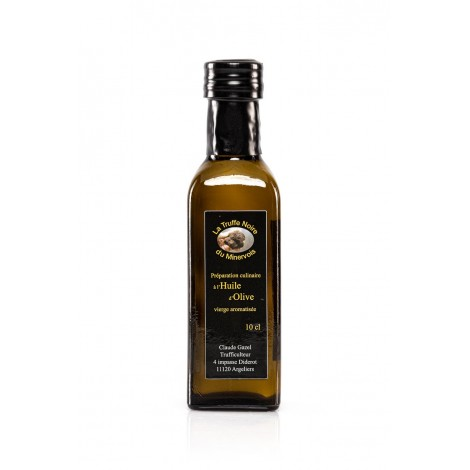 préparation culinaire à l'huile d'olive aromatisée à la truffe