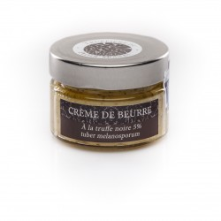 Crème de beurre à la truffe noire