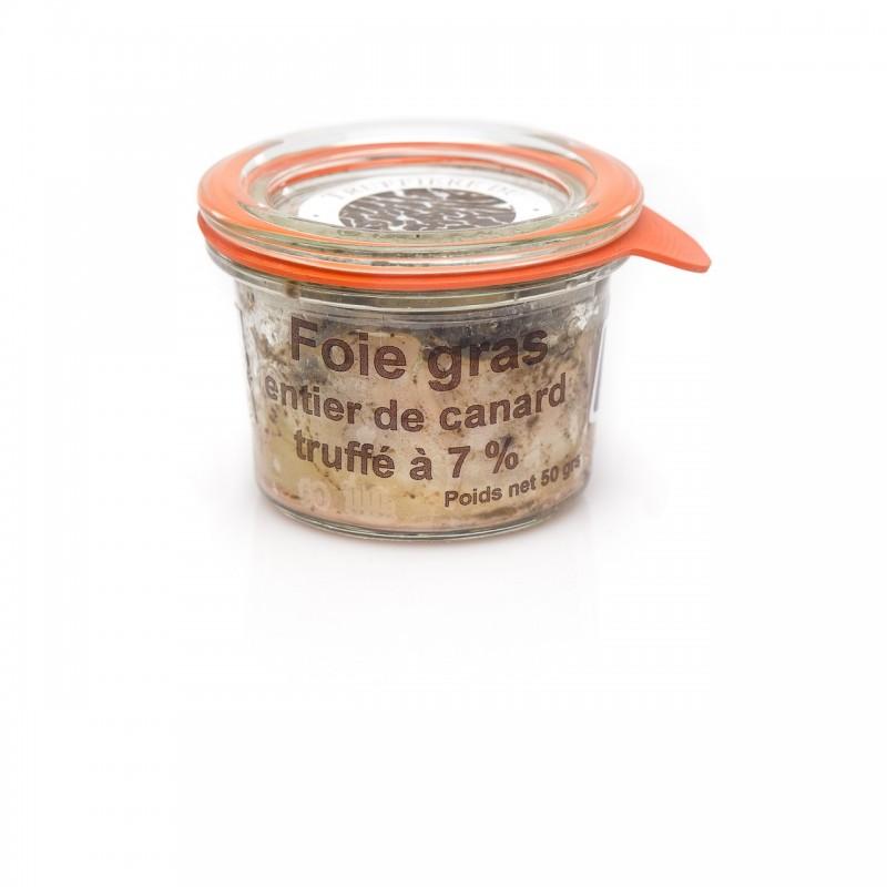 Foie gras entier de canard truffé 7%
