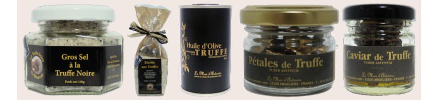 Produits truffés Pays Cathare - Maison de la Truffe d'Occitanie